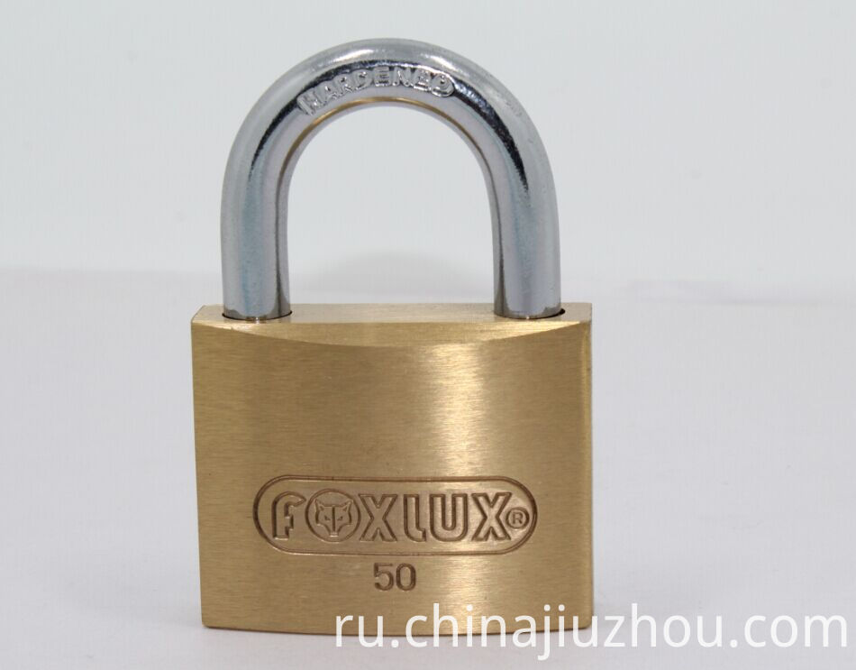 50mm Heavy Duty Thick Type Brass Padlock